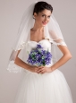 Lovely Hand-tied Wedding Bouquet For Bride