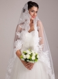 Pretty Round Shape Wedding Bridal Bouquet With White Rose
