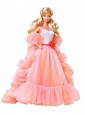 Beading Watermelon Red Organza Princess Quinceanera Doll Dress