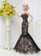 Beautiful Lace Mermaid Party Clothes Fashion Dress For Quinceanera Doll