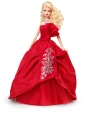 Elegant Red Gown With Embroidery Made To Fit The Quinceanera Doll