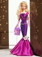 Fashion Handmade Mermaid Dress With Flower Made To Fit The Quinceanera Doll