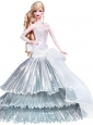 Elegant Party Dress With Special Made To Fit The Quinceanera Doll