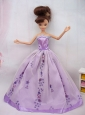 Fashionable Ball Gown Party Clothes Quinceanera Doll Dress