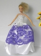 Free Shipment Quinceanera Doll Wedding Clothes Party Dresses Gown