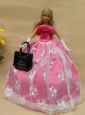 New Arrival Party Clothes Dress For Quinceanera Doll Girl's Gift Free Shipping