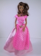 New Beautiful Handmade Party Clothes Fashion Dress For Quinceanera Doll