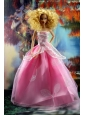 Pretty Pink Princess Dress For Quinceanera Doll