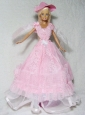 Pretty Pink Princess Dress Made To Fit The Quinceanera Doll