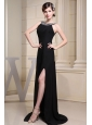 Betaau Beading and High Slit For Prom Dress
