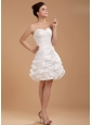Custom Made For 2013 Prom Dress With Sweetheart and Pick-ups Knee-length