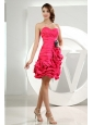 Hot Pink Sweetheart Ruch Pick-ups Dama Dress 2013