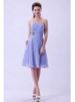 Lilac Chiffon Short Dama Dress On Sale