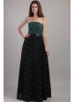Handle Flowers Floor-length Chiffon for Junior Dama Dress