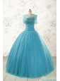 2015 Best Strapless Quinceanera Dresses with Beading