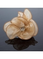 Cheap Organza Champagne Fascinators for Special Occasion