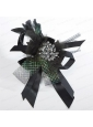 Luxirious Lace Feather and Rhinestone Fascinators For 2014
