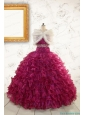 Prefect Quinceanera Dresses with Beading and Ruffles for 2015