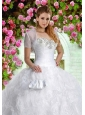 Brand New White Special Occasion Quinceanera Jacket with Beading