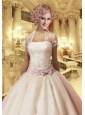 Lovely Tulle Ivory Special Occasion Prom with Appliques Quinceanera Jacket