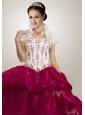 Modern Appliques White Quinceanera Jacket with Open Front