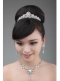 Multi-color Crystal and Rhinestone Round Shaped Jewelry Set