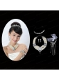 Elegant Alloy With Pearl/Rhinestone Women's Jewelry Sets