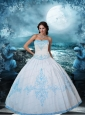 Elegant White Quinceanera Dresses with Beading and Embroidery
