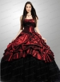 Wonderful Strapless Quinceanera Dresses with Appliques and Pick-ups for 2015