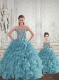 Gorgeous Beading and Ruffles Princesita Dress for 2015 Spring