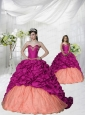 Top Seller Appliques and Pick-ups Brush Train Princesita Dress in Fuchsia