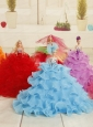 2015 Sweet Party Clothes Quinceanera Doll