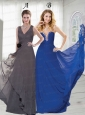 The Brand New Style Chiffon Prom Dresses in Floor Length