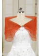 2014 New Style Orange Red Shawls with Beading