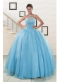 Pretty Strapless Quinceanera Dresses with Appliques