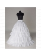 Hot Sell Organza A Line Floor-length Petticoat in White