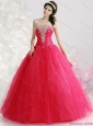 New Arrival Strapless 2015 Quinceanera Gowns with Rhinestones