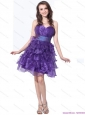 Popular Sweetheart Short Prom Dresses with Ruffled Layers