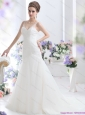 2015 New A Line Wedding Dress with Lace