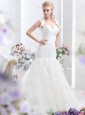 2015 New Sweetheart Wedding Dress with Lace