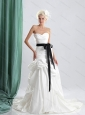 New and Sturning 2015 Sweetheart Wedding Dress with Ruching
