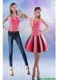 Detachable New Style 2015 Sweetheart Multi Color Prom Dress with Beading
