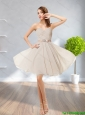 2015 Sexy  Fashionable Sweetheart Short Prom Dress with Ruching and Belt