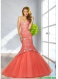 2015 Popular Mermaid Sweetheart Prom Dresses with Sequins