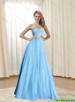 The Super Hot Sweetheart Beading Floor Length Elegant Bridesmaid Dresses for 2015