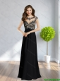 2015 Pretty Scoop Ruching Backless  Best Prom Dress in Black