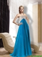 The Most Popular Halter Top 2015 Prom Dress with Beading and Ruching