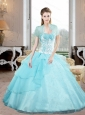 Pretty Sweetheart 2015 Quinceanera Gown with Appliques and Beading