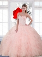The Super Hot Beading and Ruffles Sweetheart Quinceanera Dresses for 2015