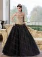 2015 Perfect A Line Multi Color Quinceanera Dresses with Beading